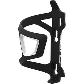 Cube HPP-Sidecage Flaskeholder hvid/sort